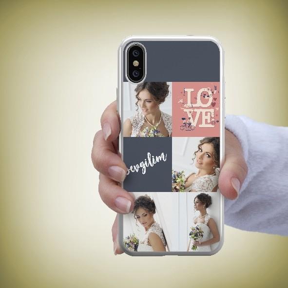 4 fotoğraflı kolaj telefon kapağı