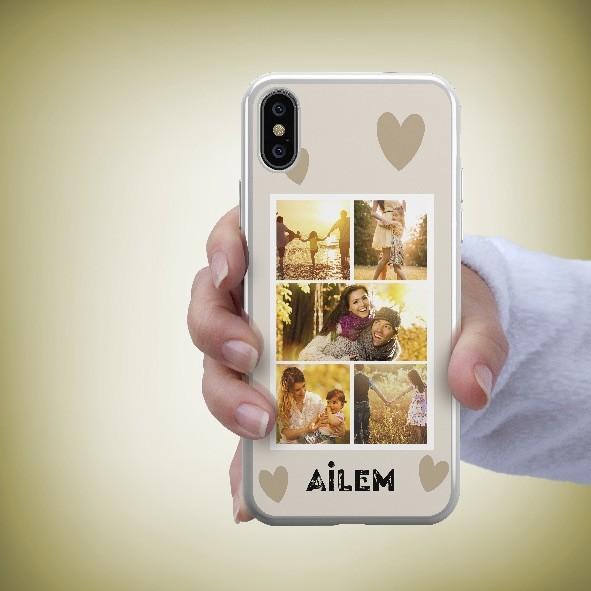 5 fotoğraflı telefon kapağı